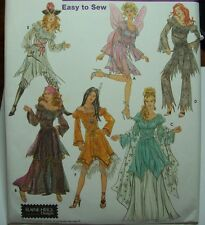 Simplicity 5363 Cosplay, Costume, Pirate, Steam, Fairy Gown Pattern New Sz 14-20