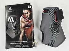 ADIDAS Performance ADIZERO SPEEDWRAP Basketball Ankle Brace Gray/Black Left XL