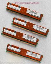 8GB (4x 2GB) 2Rx4 RAM PC2-5300F FB-DIMM Speicher 667 Mhz ECC Fully Buffered DDR2