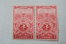 $0.03 Cents A Century of Health Stamps Block of 2
