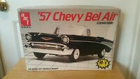 AMT 1/16  Matchbox '57 Chevy Bel Air Convertible  Plastic Model Car Kit New