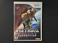 Metroid Prime 3: Corruption (Nintendo Wii, 2007) Brand New Factory Sealed