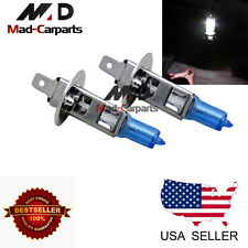 H1 100w Halogen Xenon Headlight Replacement 2x Light Bulb Lamp 6000K White