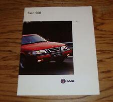 Original 1994 Saab 900 Deluxe Sales Brochure 94 S SE Coupe