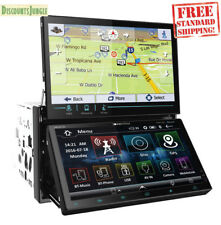"SOUNDSTREAM AVID-2S VRN-DD7HB 2-DIN 7"" DUAL SCREEN CAR GPS DVD MP3 CD BLUETOOTH"