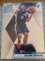 2019-20 Panini Mosaic #238 Keldon Johnson RC San Antonio Spurs Basketball Card