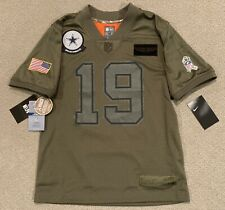 Nike Amari Cooper #19 Dallas Cowboys Salute To Service Camo NFL Jersey Youth M