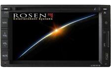 """Rosen Car show DS-UN1010 Universal 2 DIN Version 6.2"""" LCD / Navigation / DVD /BT"""