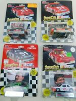 Racing Champions 1:64 NASCAR Lot Of  4 Die Cast Diecast Vintage B13