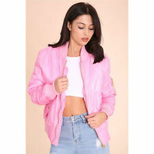 Women's Waist Length Casual Biker Coats & Jackets