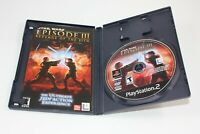 Star Wars Episode III Revenge Of The Sith PS2 Sony Playstation 2 CIB Complete