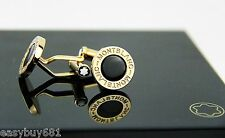 Montblanc Precious Collection 101543 Round 18k Solid Red Gold & Onyx Brand New