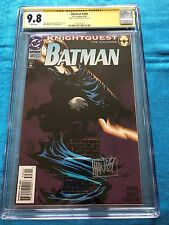 Batman #506 - DC - CGC SS 9.8 NM/MT - Signed by Mike Manley