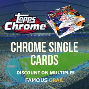 Topps Chrome Match Attax 2020/21 - Chrome Base Cards Singles - MINT PACK FRESH
