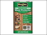 Rustins Quick Dry Advanced Wood Protector Black 5 Litre RUSAWPBK5L