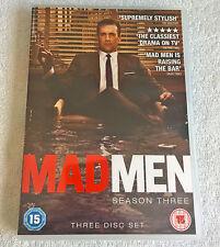 Mad Men - Series 3 -Complete (DVD, 2010, 3-Disc Set)