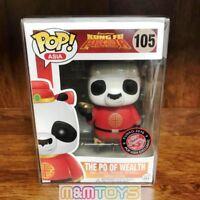 Funko Pop Asia 2016 Exclusive: Kung Fu Panda : The Po of Wealth  #105 Vinyl