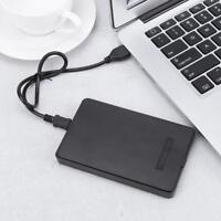 "Portable USB 2.0 Port to IDE PATA 2.5"" inch HDD Notebook Enclosure Box Enclosure"