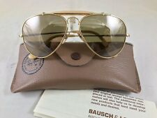 Ray Ban B&L The General 50 Anniversary 1937-1987 Aviat Sunglasses 58[]14 Vintage