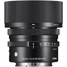 Sigma 45mm f/2.8 DG DN Contemporary Lens for Leica L.  U.S. Authorized Dealer