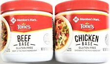 Member's Mark Tone's Chicken or Beef Base Gluten-Free, 16 Ounce Jars