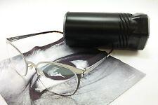 IC! Berlin Eyeglasses Frame Samedi Stainless Steel Chrome Havanna 53-19-140, 42