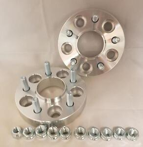 Mazda 6 2002 Onwards 5x114.3 67.1 25mm Hubcentric wheel spacers 1 pair UK MADE