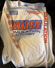 2018 Muse Simulation Theory Concert T Shirt Size L Not So Silent Night Brooklyn
