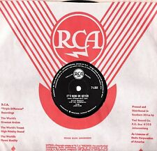 RARE 1960 ELVIS PRESLEY 78 IT'S NOW OR NEVER / A MESS OF BLUES SA RCA 71.333 EX+