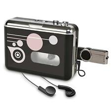Portable Cassette Player Digital Audio Recorder Tape to MP3 Converter Player