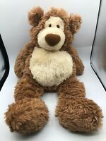 Large Gotta Getta Gund Alfie Brown Teddy Bear Plush Soft Stuffed Toy Animal Doll