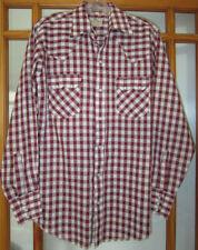 DC Dee Cee Western Shirt Men's 15 - 34 Long Sleeve USA Made