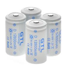 4pcs GTL C Size 1.2V 12800mAh Ni-MH Rechargeable Batteries