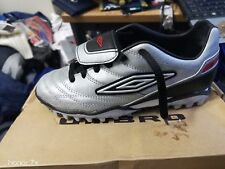 UMBRO  SIGNATURE SILVE/black astro man made leather size  3.OR 4 OR55. uk at £10