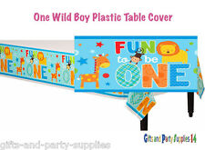 Baby Boy First Birthday Party Decoration Wild at One Table Cover FUN TO BE ONE