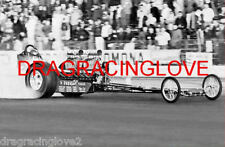 """Freight Train"" John Peters 1960s Bob Muravez ""TWIN"" Engine Gas Dragster PHOTO!"