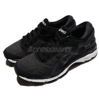 Asics Gel-Kayano 24 Black White Women Running Training Shoes Sneakers T799N-9016