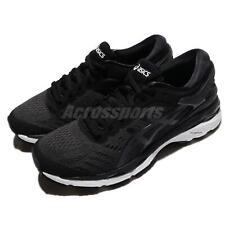 Asics Gel-Kayano 24 Black White Women Running Training Shoes Sneakers T799N-9016