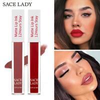 Matte Lipstick Langlebiger flüssiger Lippenstift Lip Tint Lip Gloss Wasserdicht