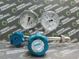 USED Airgas Y13-C444B Regulator Assembly Max. Inlet 4000 PSIG Max. Outlet 60PSIG