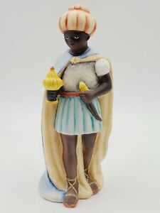 "8"" Tall Goebel Hummel Nativity Figurine MOORISH KING 214/L/I TMK6"