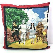 "Vintage Wizard of Oz Pillow Square 18x18"" *U"