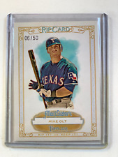 Mike Olt 2013 Topps Allen and Ginter Rip Card /50 RIPPED Texas Rangers