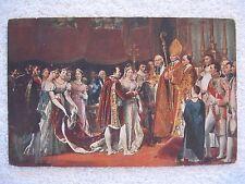 Wedding of Napoleon & Marie-Louise 4-2-1810 Postcard Les Editions Nomis Paris