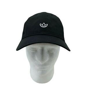 Adidas Nylon Hat Women's Adjustable Black Strapback Water Resistant Athletic Cap