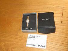 Pulsar Ladies Analogue Watch Vintage w/ Box  (ab2209)