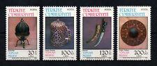 1986 TURKEY  TOPKAPI  MUSEUM-3  ART  HISTORY MILITARY COMPLETE  SET MNH**