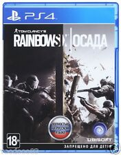 Tom Clancy's Rainbow Six: Siege (PS4, 2015) English,Russian ver. *NEW & SEALED*
