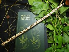 Avalon Willow Spiral Wand - Seership - with Bag - Pagan, Witchcraft, Wicca