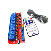 12V 8-CH Infrared Remote Control Relay Module for Arduino + Extension Cord